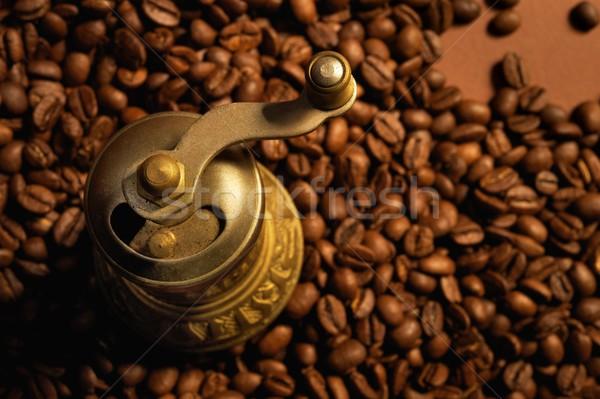 Caffè mill bere energia concetto macro Foto d'archivio © Nejron