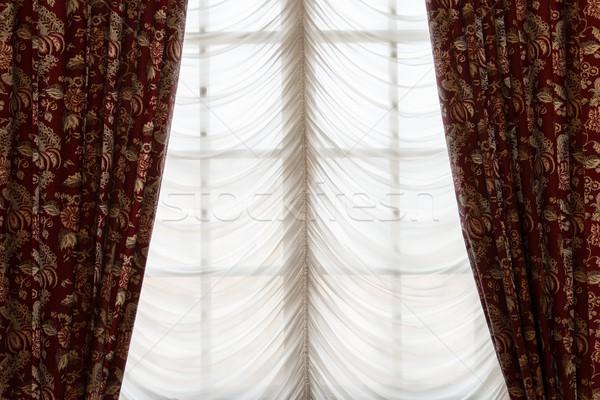 Niewidomych okno domu pokój wnętrza Zdjęcia stock © Nejron