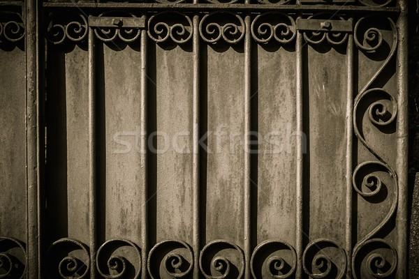Decorative lattice on a wall Stock photo © Nejron