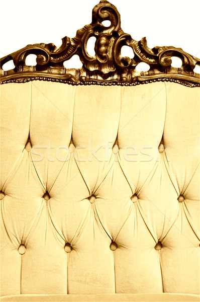 Sepia picture of a luxury furniture Stock photo © Nejron