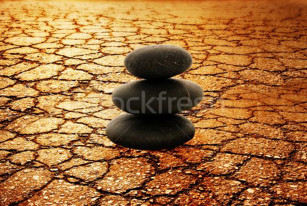 Pedra torre deserto textura abstrato fundo Foto stock © Nejron
