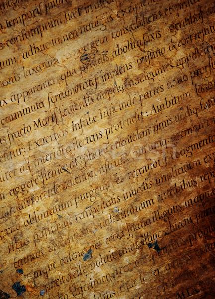 Stock photo: Latin letters texture