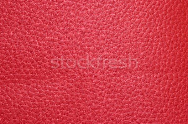 Crimson leatherette texture Stock photo © Nejron