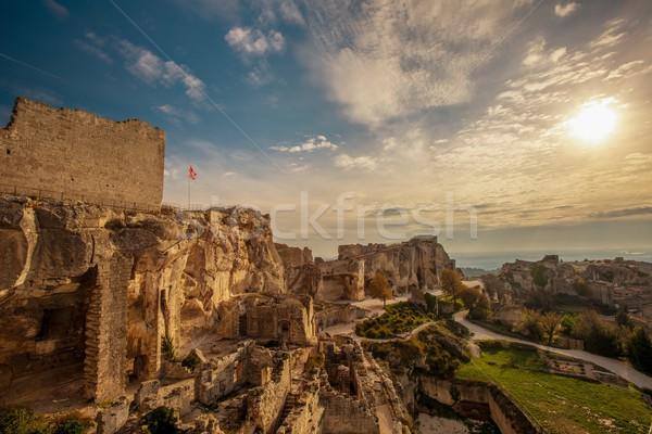 Ruins in Les Baux-de-Provence, France Stock photo © Nejron