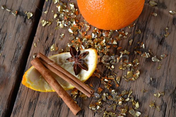 оранжевый анис блеск Сток-фото © Nelosa