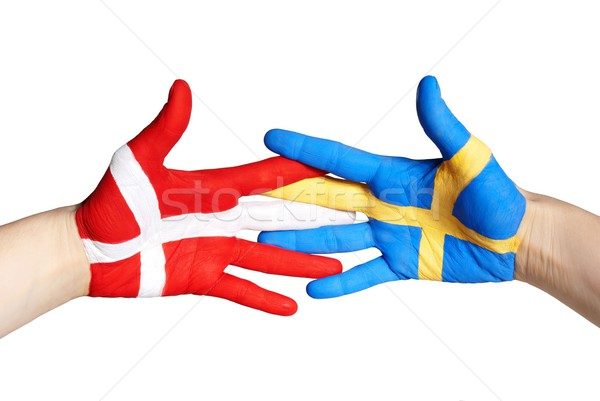 denmark and sweden Stock photo © Nelosa