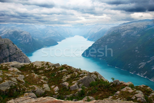 Norwegian Fjord Stock photo © Nelosa