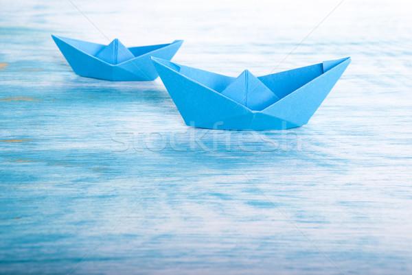 Two Boats in the Sea Stock photo © Nelosa