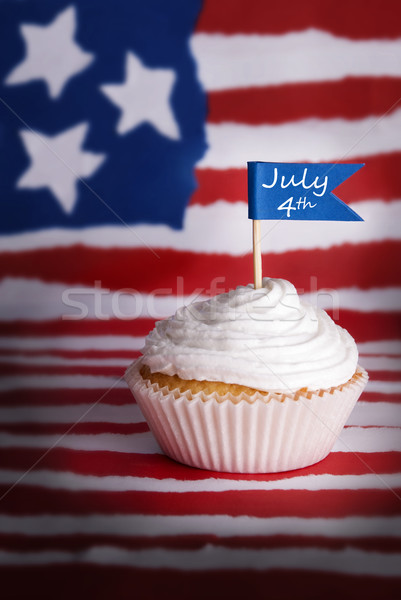 July 4th Cupcake Stock photo © Nelosa
