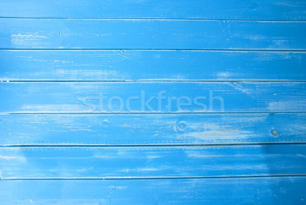 Light Blue Vintage Wooden Background, Copy Space Stock photo © Nelosa