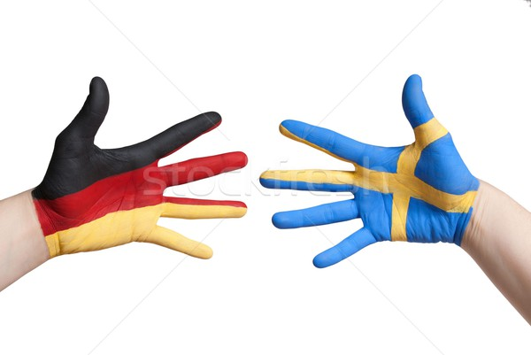 germany and sweden Stock photo © Nelosa