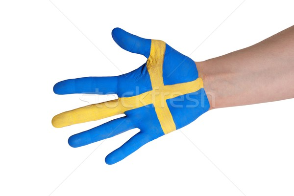 swedish hand Stock photo © Nelosa