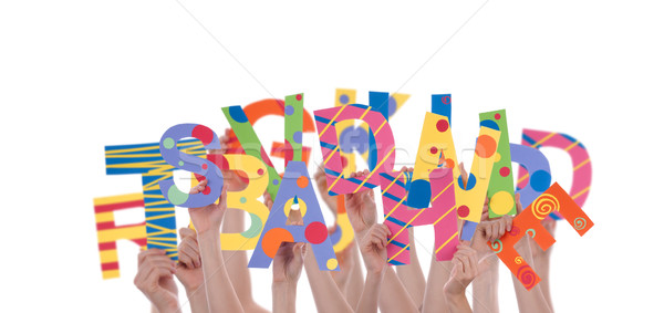Stock photo: Letter Chaos