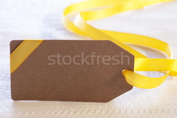 Wielkanoc etykiety kopia przestrzeń reklama biały Zdjęcia stock © Nelosa