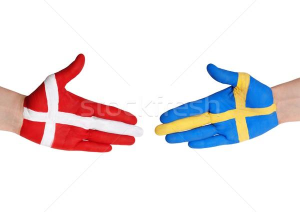 denmark and sweden Stock photo © Nelosa