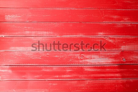 Red Vintage Wooden Background, Copy Space Stock photo © Nelosa