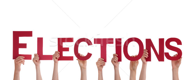 People Holding Elections Stock photo © Nelosa