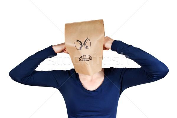 angry person Stock photo © Nelosa