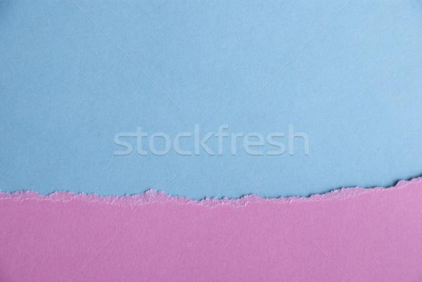 Rosa azul textura del papel papel textura bebé Foto stock © Nelosa