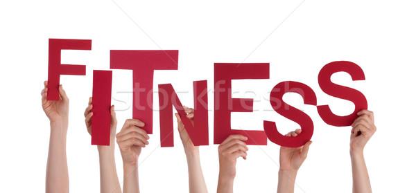 Hands Holding Fitness Stock photo © Nelosa