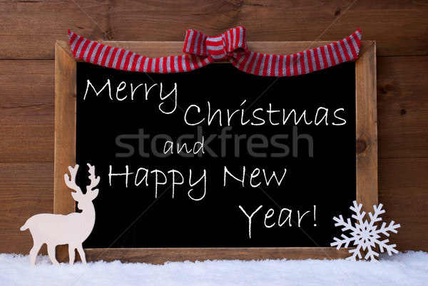 Card, Snowflake, Loop, Merry Christmas, Happy New Year, Snow Stock photo © Nelosa