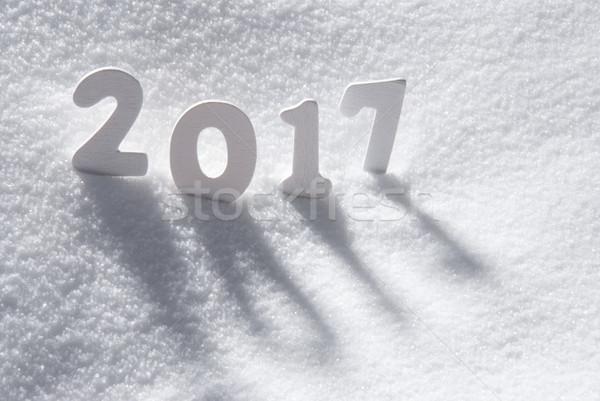 文本 白 信件 雪 建設 風景 商業照片 © Nelosa