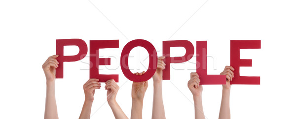 Persons Holding People Stock photo © Nelosa
