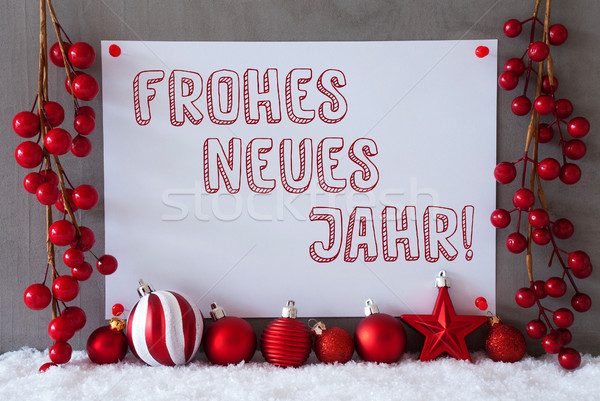 Etiket kar Noel yılbaşı metin Stok fotoğraf © Nelosa
