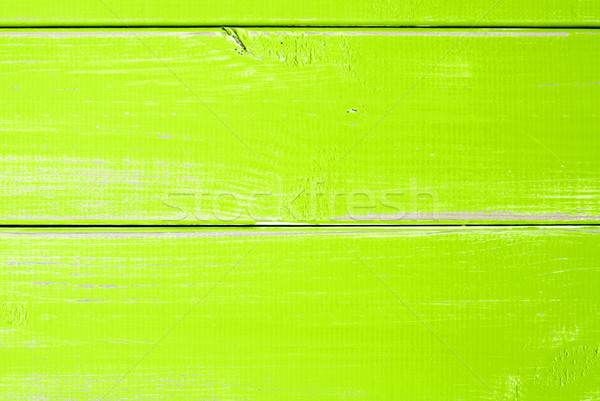 Light Green Wooden Slats Background With Copy Space Stock photo © Nelosa