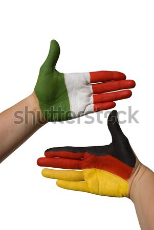 handshake between czech republic and germany Stock photo © Nelosa