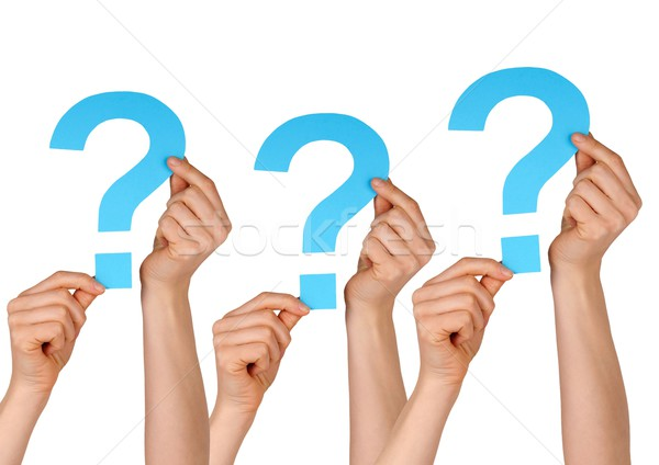 question marks Stock photo © Nelosa
