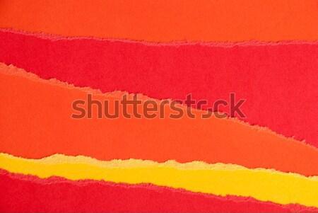 カラフル 紙 秋 色 抽象的な 背景 ストックフォト © Nelosa