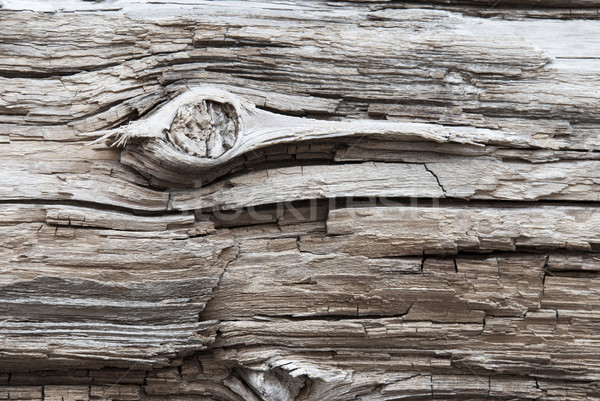 Brown Wooden Background Or Texture With Knothole, Copy Space Stock photo © Nelosa