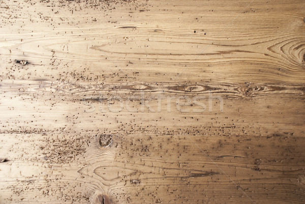 Brown Wooden Background With Copy Space Stock photo © Nelosa