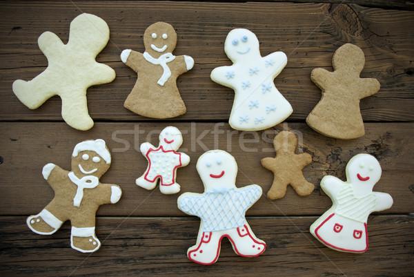 Happy Ginger Bread Community Stock photo © Nelosa
