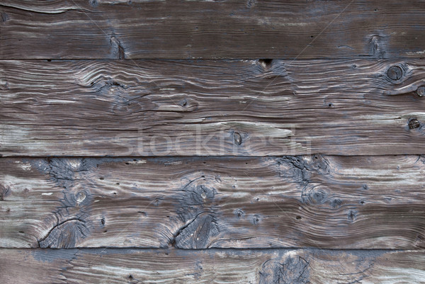 Rustic Wooden Background Or Texture With Blue Color, Copy Space Stock photo © Nelosa