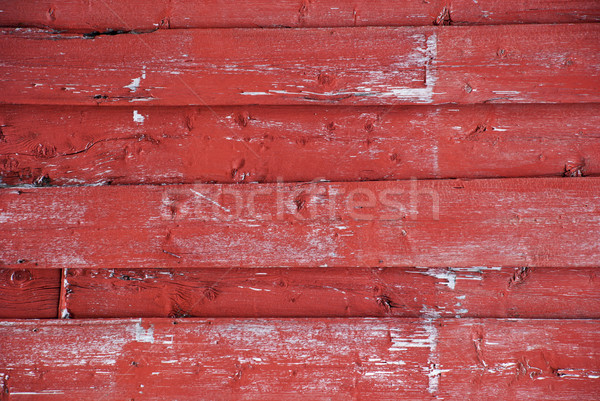 Red Wooden Background With Copy Space Stock photo © Nelosa