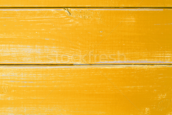 Yellow Wooden Slats Background With Copy Space Stock photo © Nelosa