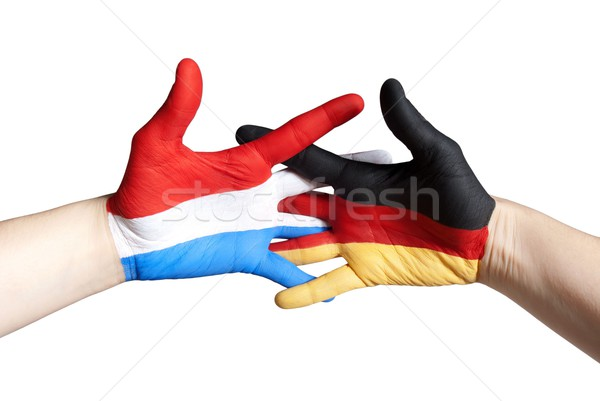 dutch german partnership Stock photo © Nelosa