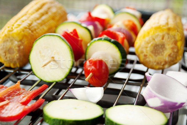 vegetarian barbecue Stock photo © Nelosa