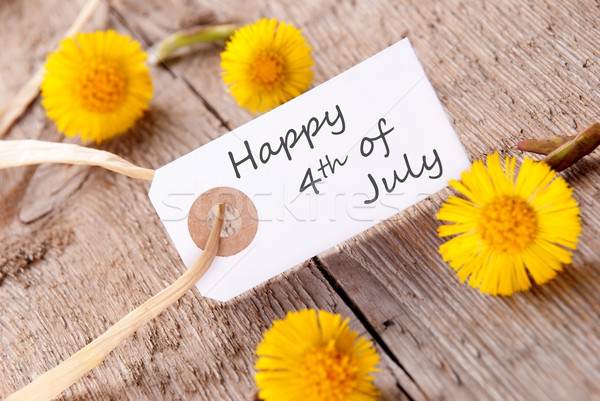 Happy 4th of July Stock photo © Nelosa