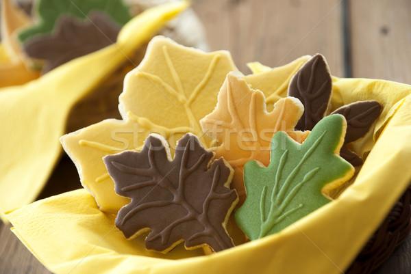 Autumn Buiscuit Closeup Stock photo © Nelosa