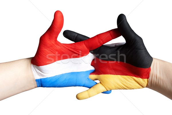 dutch german relation Stock photo © Nelosa