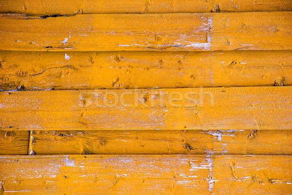 Yellow Wooden Background With Copy Space Stock photo © Nelosa
