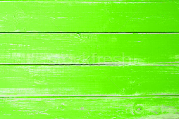 Intense Green Wooden Background, Copy Space Stock photo © Nelosa