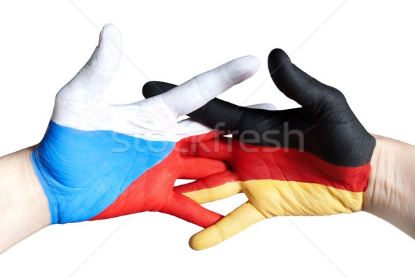 germany and czech republic Stock photo © Nelosa