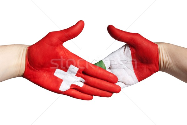 swiss italian handclap Stock photo © Nelosa