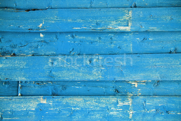 Blue Wooden Background With Copy Space Stock photo © Nelosa