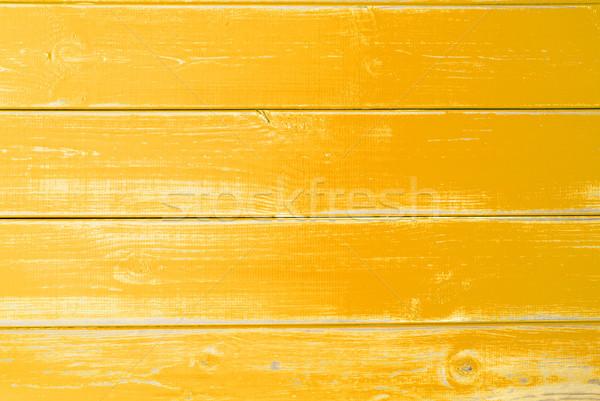Yellow Wooden Background, Copy Space Stock photo © Nelosa