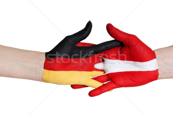 germany and austria in coalition Stock photo © Nelosa